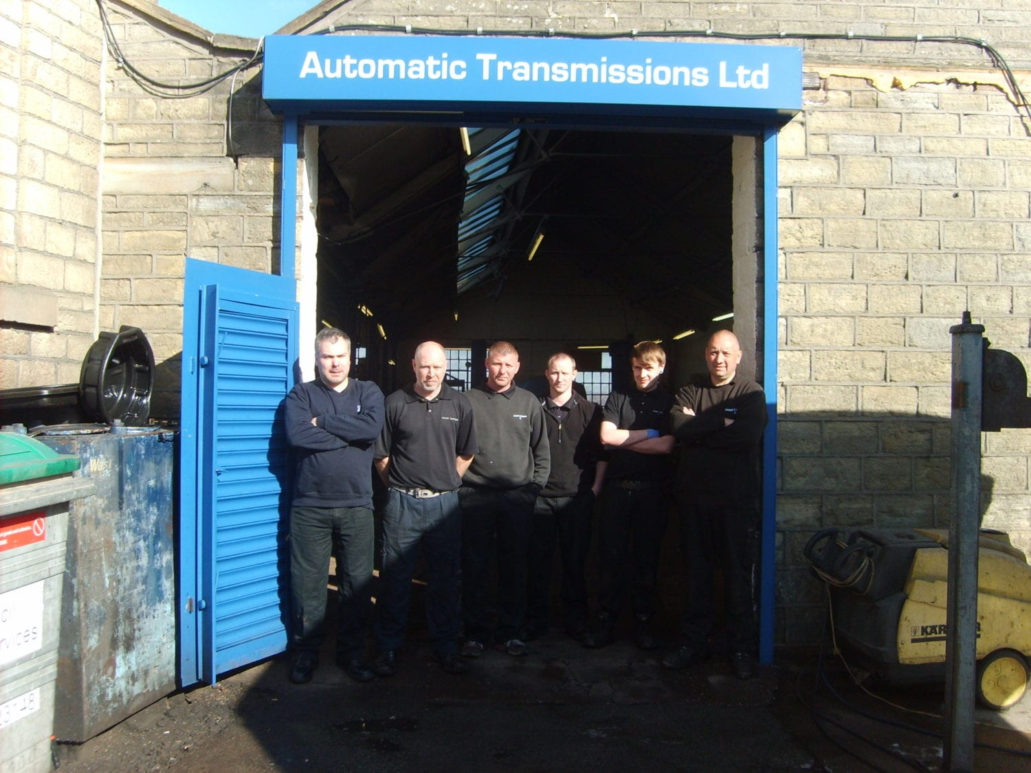The team at auto gear box