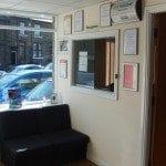 auto gear box reception area
